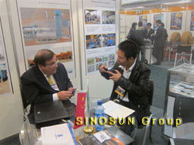 SINOSUN at Brazil M&T Expo 2012