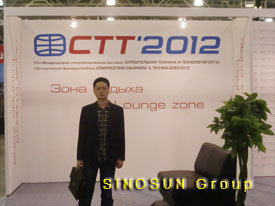 SINOSUN Pavilion at CTT 2012