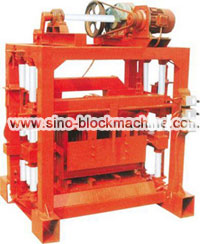 QTJ4-40 small block making machine