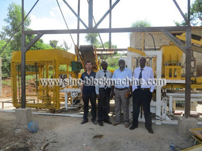 Concrete Block Making Machine in Kenya