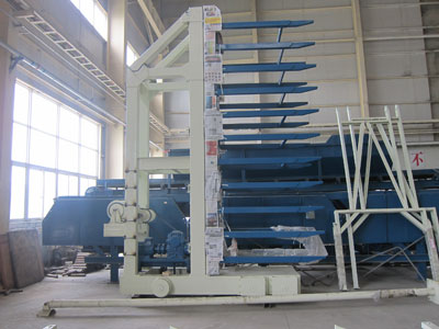 Finger Cart of Curing Kiln Transfer System